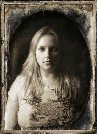 Infrared self-portrait from last year. Turned into digital manipulation of vintage tintype.