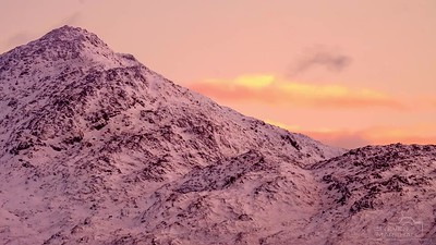 First Light on Ben Resipole – Viewed From Camas Torsa, Salen, Ardnamurchan