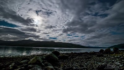 Loch Sunart by Moonlight - Rockpool House, Resipole, Sunart