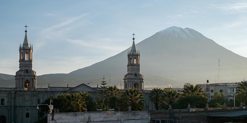 Volcan El Misti, Arequipa, Pérou