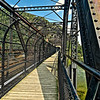 Harpers Ferry WV - Walking Path next to Train