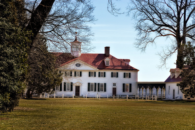 Mount Vernon - Front of House