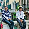 Gondola Drivers in Venice Italy
