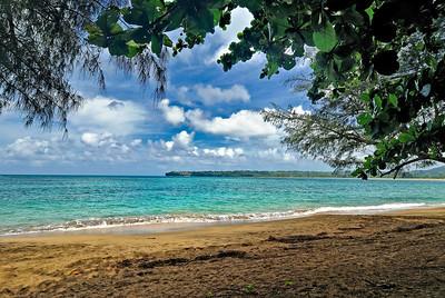 Kauai HI - Honelei Bay Beach