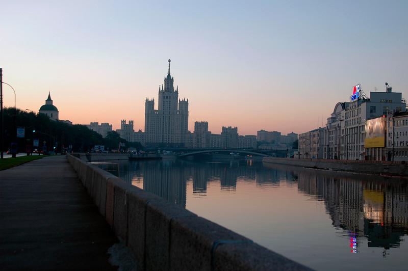 040819 0117 Moscow - Early Morning Kotelnichskaya House B _H _J ~E ~L