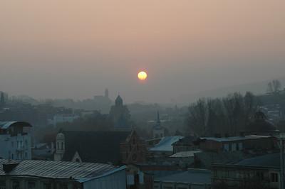 041113 0693 Georgia - Tbilisi Rustavi Square Sunrise _D _E _I _H ~E ~L