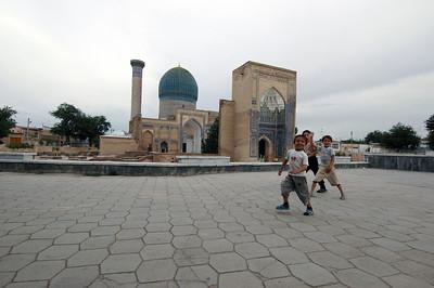 050425 3288 Uzbekistan - Samarkand - Gur Emir Mausoleum _D _E _H _N ~E ~L