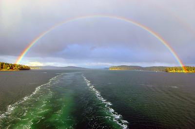 050412 2927 Canada - Victoria - BC Ferry - Rainbow _I ~E ~L