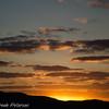Sunset over Lizard Island in Australia.