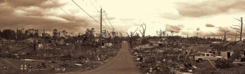 Clean Up Begins - April 2011 Jefferson County Alabama Tornado Damage