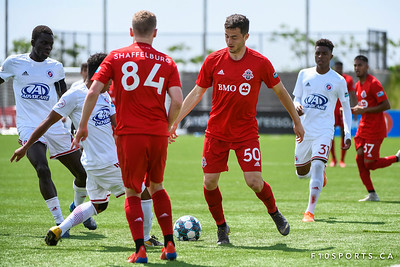 TORONTO, CANADA - Jun 12: during the United Soccer League Soccer match between Toronto FC II and North Texas SC at BMO Training Ground. Photo: Michael Fayehun/F10 Sports Photography