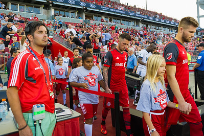 2018 Canadian Championship Final match between Toronto FC and Vancouver Whitecaps  at BMO Field on August 15, 2018 in Toronto, Ontario Canada. Photo: Michael Fayehun/F10 Sports Photography