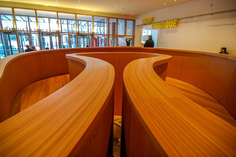 Art Gallery of Ontario interior ramp