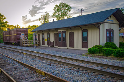 New York Susquehanna and Western Railroad - Rochelle Park Train Station
