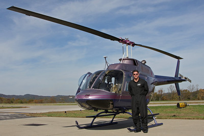 Our very experienced pilot, Brett Degarmo.