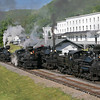 "Cass Scenic Railroad ""Home of the Shays"""