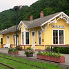 """By the time we got there, it was already a well-established fire,"" On Friday March 28, 2008 this former Chesapeake & Ohio Railroad depot was destroyed by fire. The station built in 1901 was 107 years old. The station which is located in Marlinton, WV housed the Pocahontas County Convention and Visitors Bureau. It was a city Icon. To find out for information on the fire and to see a after photo visit the link.  <a href=""http://www.pocahontastimes.com/index.php?id=116"">www.pocahontastimes.com</a>"