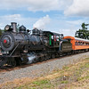 Mt Rainier Scenic Railroad 2-8-2 #70 pulls a special excursion in Tacoma, WA
