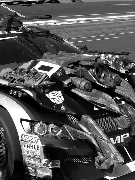 Lowe's 48 NASCAR Autobot Transformers Dark of the Moon