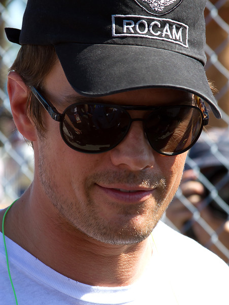 Transformers William Lenox Actor Josh Duhamel at 2011 Daytona 500
