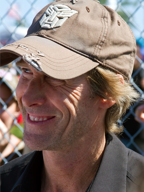 Director Michael Bay Transformers Pearl Harbor The Rock Bad Boys Armageddon Grand Marshall 2011 Daytona 500