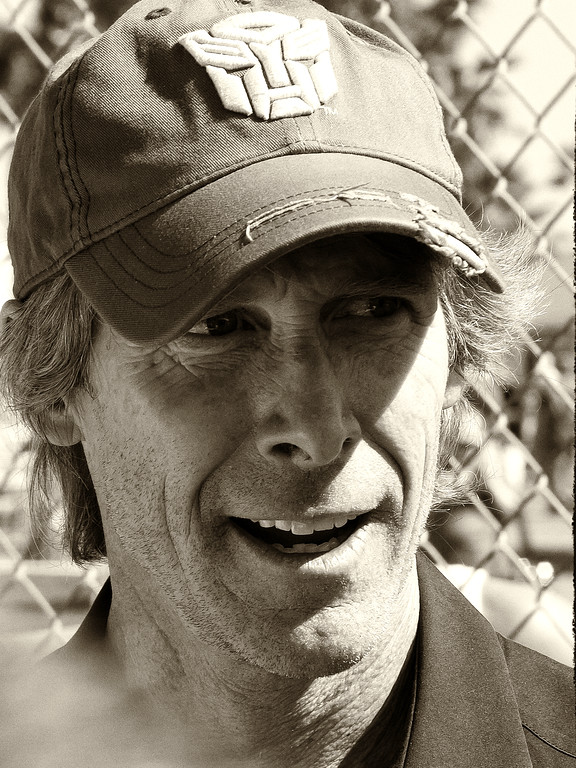 Transformers Director Michael Bay Grand Marshall 2011 Daytona 500.