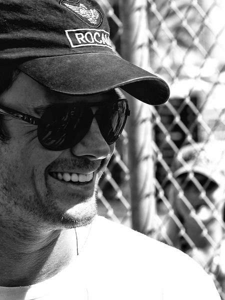 Josh Duhamel Husband of Black Eyed Peas Fergie and William Lennox in the Transformers Movies Grand Marshall at 2011 Daytona 500
