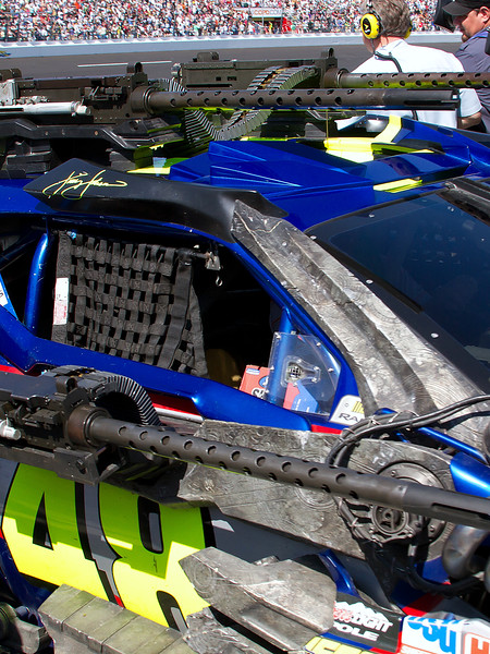 Lowes No. 48 Transformers 3 Autobot 2011 Daytona 500
