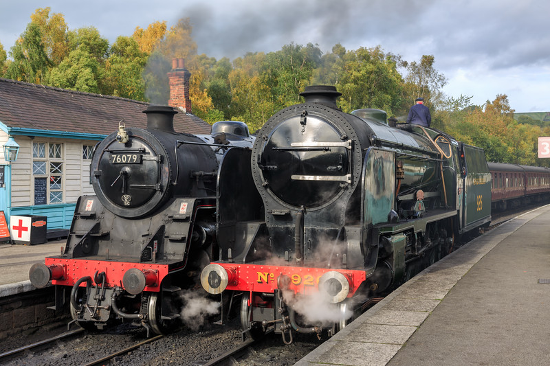 Huff and Puff at Grosmont.