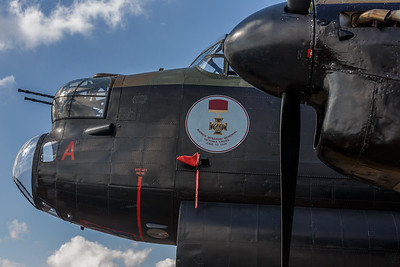 Lancaster at Goosepool August 2014.