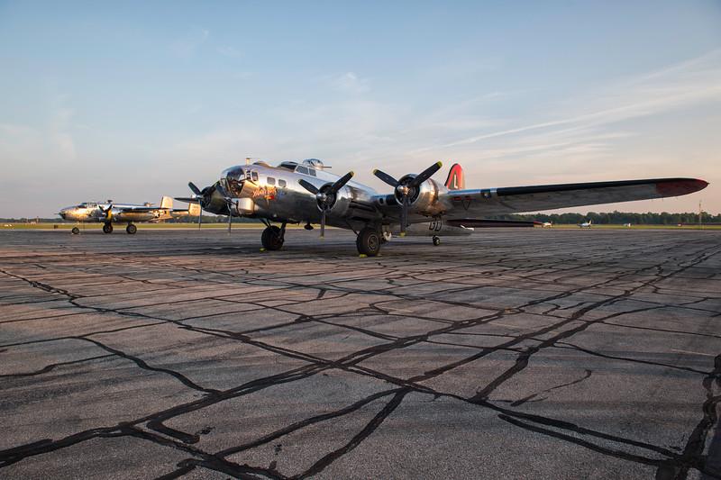 B-17G Flying Fortress 'Yankee Lady'