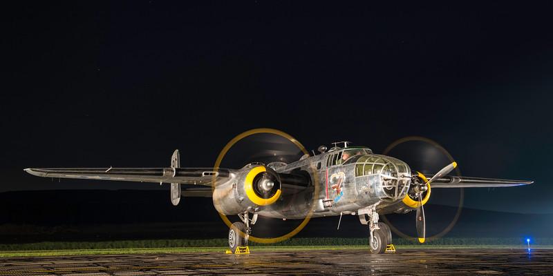 """B-25D Mitchell ' Yankee Warrior"""""""