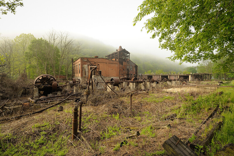 Cass Scenic Railroad State Park 1/ 45s, at f/11    E.Comp:3/6    15mm    WB: CLOUDY 0.    ISO: 200    Tone:     Sharp:     Camera: NIKON D700on: 2013:05:17 07:38:37