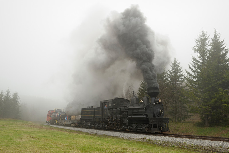 Cass Scenic Railroad State Park 1/ 180s, at f/8    E.Comp:0    28mm    WB: CLOUDY 0.    ISO: 400    Tone:     Sharp:     Camera: NIKON D700on: 2013:05:18 12:58:26