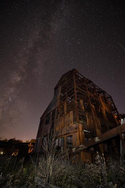 Boilerhouse Ruins - Milky Way