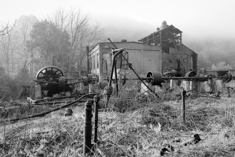 Cass Scenic Railroad State Park 1/ 60s, at f/8 || E.Comp:0 || 24mm || WB: CLOUDY 0. || ISO: 200 || Tone:  || Sharp:  || Camera: NIKON D700on: 2013:05:17 07:37:36