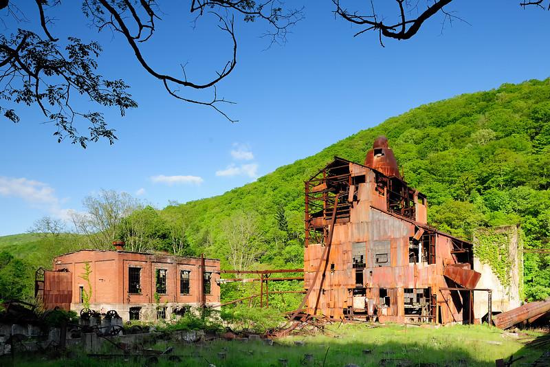 Cass Mill Boiler House