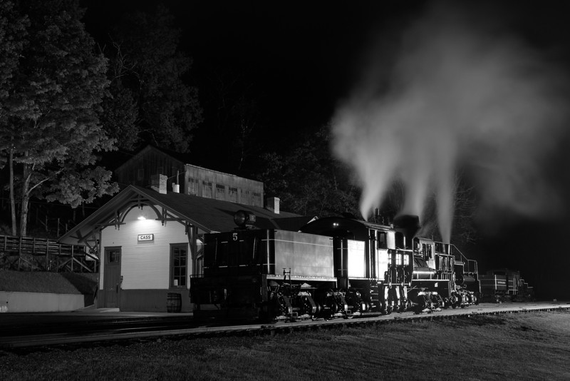 Cass Scenic Railroad State Park 4s, at f/11 || E.Comp:0 || 48mm || WB: AUTO 0. || ISO: 200 || Tone:  || Sharp:  || Camera: NIKON D700on: 2013:05:18 21:25:15