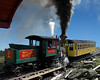 Engine #2 works hard up the grade to Mt. Washington