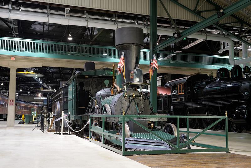 Railroad Museum of Pennsylvania 1/ 2s, at f/5.6 || E.Comp:1 || 42mm || WB: 3330K 0. || ISO: 400 || Tone:  || Sharp:  || Camera: NIKON D700on: 2013:02:18 20:07:09