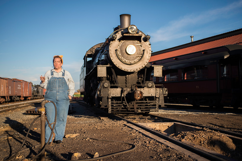 Strasburg Railroad Rosie the Riveter