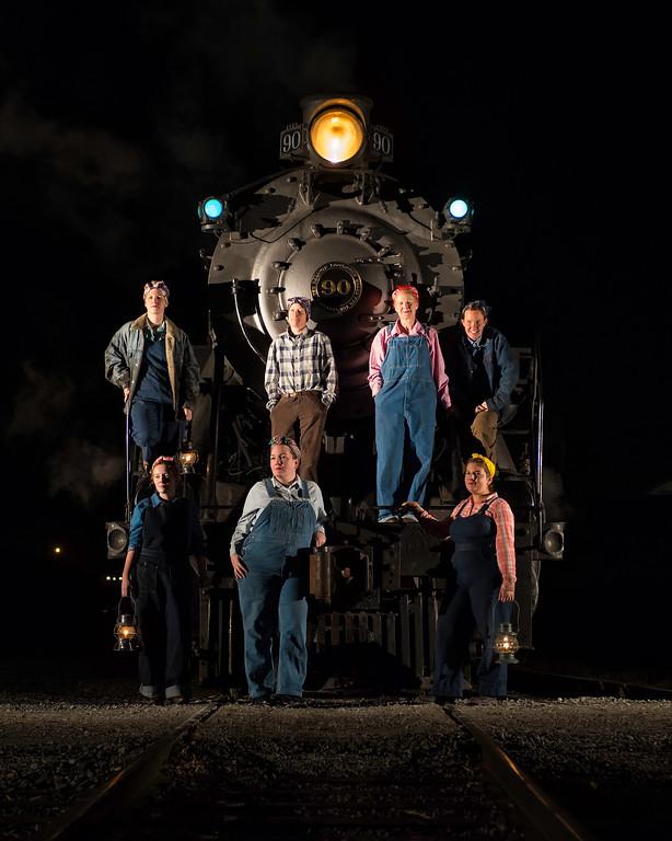 Strasburg Railroad Rosie the Riveter