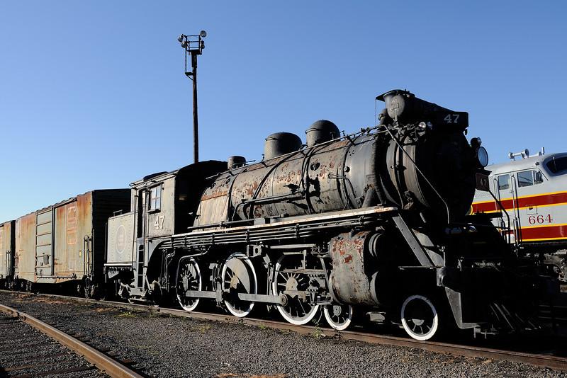 Steamtown 1/ 125s, at f/11    E.Comp:0    28mm    WB: AUTO 0.    ISO: 200    Tone:     Sharp:     Camera: NIKON D700on: 2010:09:05 08:29:43
