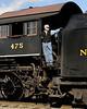 N&W 382 (475) at the Strasburg Yard