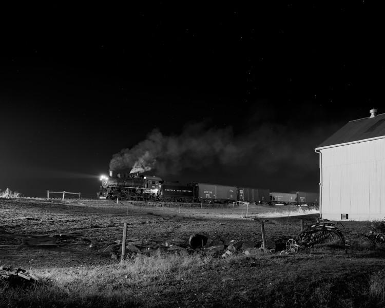 N&W 382 (475) at Verdant View Farm