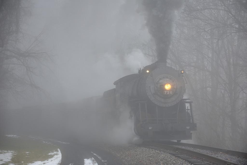 Ghost Train - East of Bone Cave