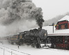 C&P Frostburg Depot Snowstorm