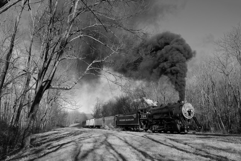 Western Maryland Scenic Railroad 1/ 250s, at f/8 || E.Comp:0 || 28mm || WB: AUTO 0. || ISO: 200 || Tone:  || Sharp:  || Camera: NIKON D700on: 2012:01:07 14:38:56