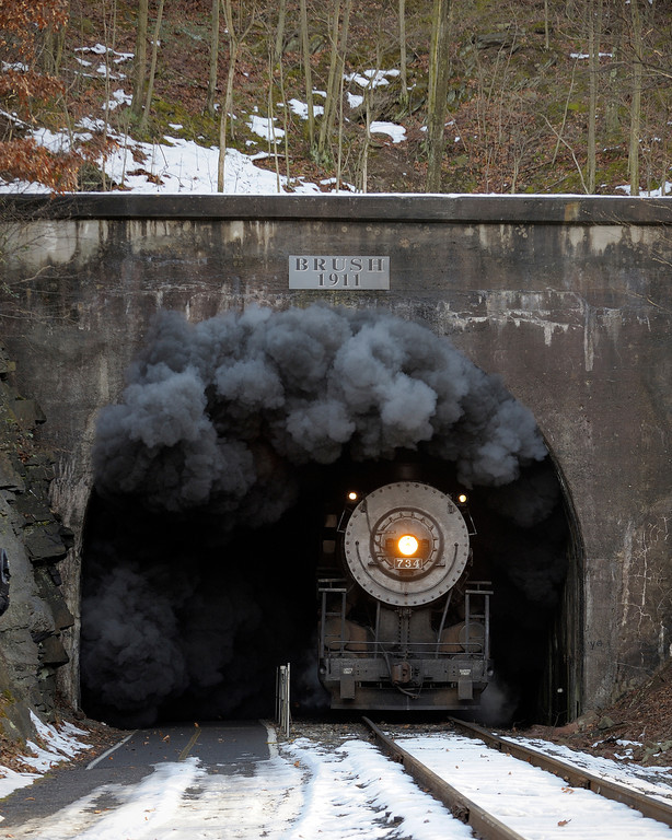 Brush Tunnel - West Portal