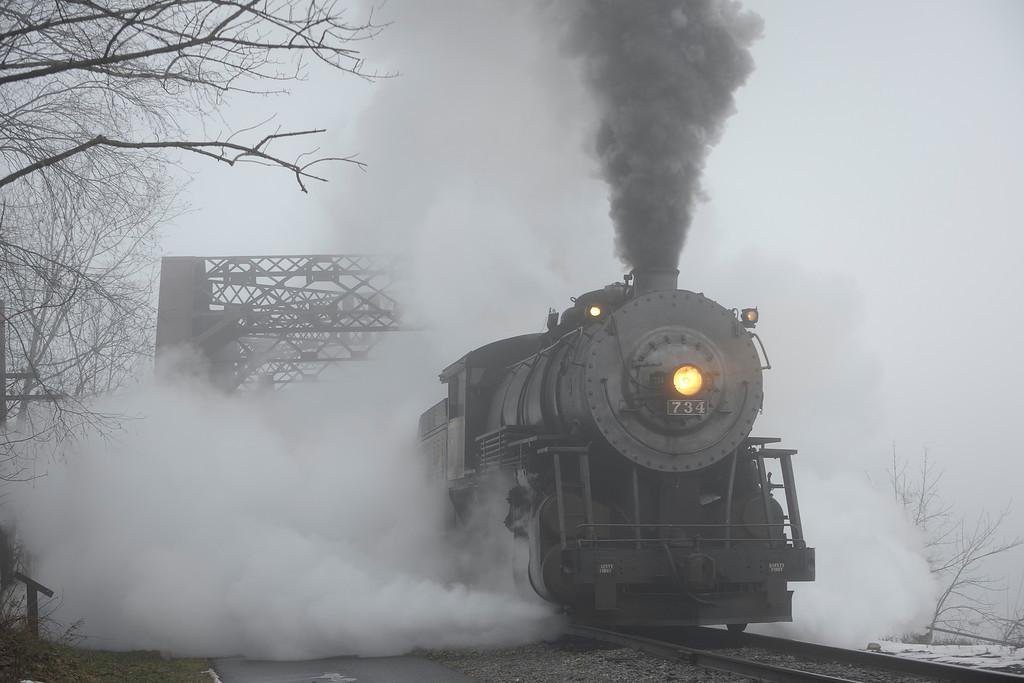 Ghost Train - Rt 40 Bridge